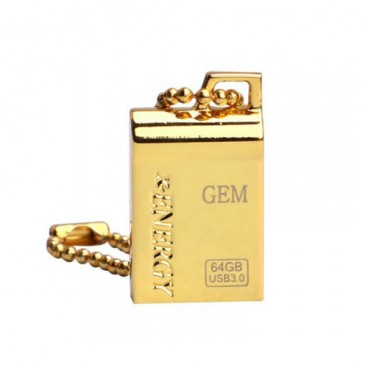 X-Energy GOLDEN GEM Flash Memory USB3.0 64GB