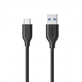 Anker A8163 PowerLine USB 3.0 To USB-C Cable 90cm